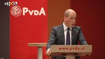 RTL Nieuws Samsom praat met achterban over regeerakkoord