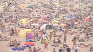 RTL Nieuws Lange files naar het strand