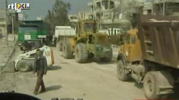 RTL Nieuws Rode Kruis mag Syrische wijk in Homs binnen