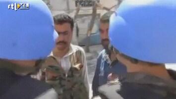 RTL Nieuws 'Burgers in Homs kunnen geen kant meer op'