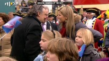 RTL Boulevard Prinsesjes bij Sinterklaasintocht