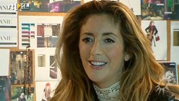 RTL Boulevard Danie Bles over zwangerschap en nieuw project