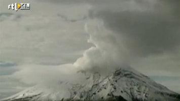 RTL Nieuws Vulkaan Popocatepetl roert zich weer
