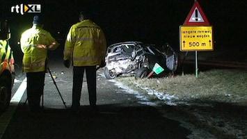 RTL Nieuws Gewonden bij ongeluk A58