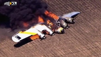 RTL Nieuws WOII-vliegtuig stort neer bij Chicago