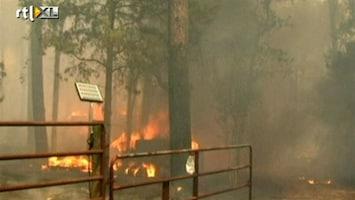 RTL Nieuws Jonge moeder en dochter komen om in bosbrand