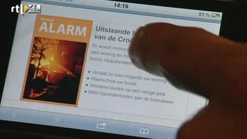 RTL Nieuws Nieuw waarschuwingssysteem in Rotterdam