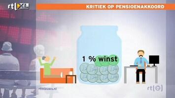 RTL Nieuws 'Pensioenakkoord is linke soep'