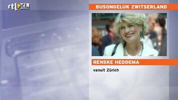 RTL Nieuws 'Frontale botsing in een nis van de tunnel'