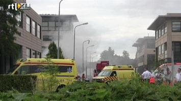 RTL Nieuws Drie zwaargewonden door brand bij Renault