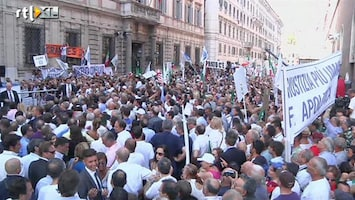 RTL Nieuws Steun voor Berlusconi