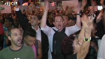 RTL Nieuws Braziliaanse president doet toezeggingen aan betogers