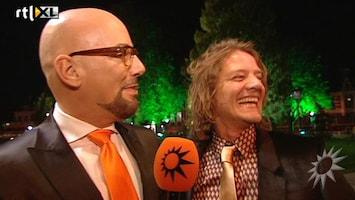 RTL Boulevard Maik de Boer op het Nederlands Filmfestival