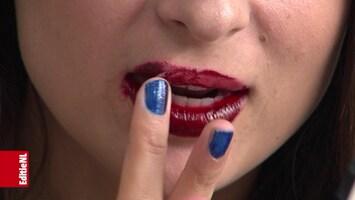 Lippenlijm is blijvertje