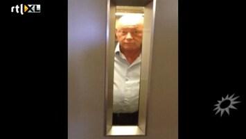 RTL Boulevard Frits Wester vast in de lift