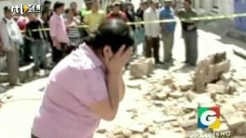 RTL Nieuws Tientallen doden door aardbeving in Guatemala