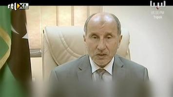 RTL Nieuws Eerste verklaring rebellen op staats-tv Libië