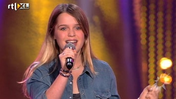 RTL Boulevard Dochter Wolter Kroes in The Voice Kids