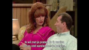 Married With Children - T-r-a-something-something Spells Tramp
