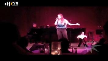 RTL Boulevard Willemijn Verkaik treedt op in jazzclub nNew York