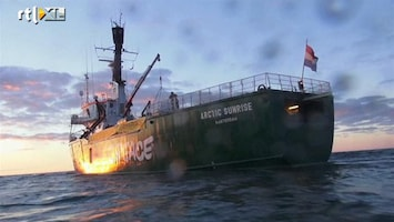 RTL Nieuws Nederland wil uitleg Rusland na entering Greenpeace-schip