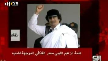 RTL Nieuws Nieuwe boodschap Khadaffi