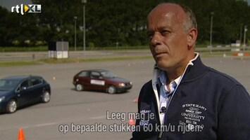 RTL Autowereld Autorijden doe je zo: Over een obstakel rijden