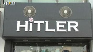 RTL Nieuws Woede om Hilter-winkel