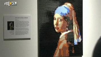 RTL Nieuws Grootste tentoonstelling van Lego ooit in New York