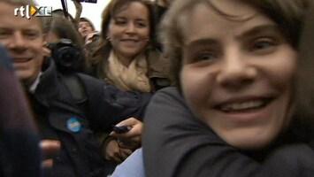 RTL Nieuws Eén zangeres Pussy Riot op vrije voeten