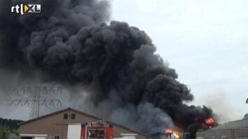 RTL Nieuws Grote brand in 's Heerenhoek