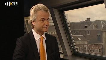 RTL Nieuws Wilders vindt kritiek op hem terecht