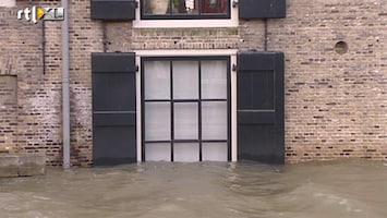 RTL Nieuws Overlast door wassend water