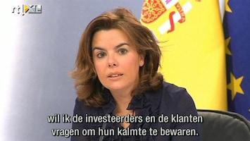 RTL Nieuws Zorgen over Spaans spaargeld