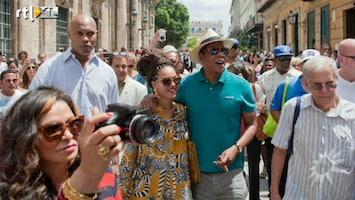 RTL Boulevard Beyonce in Cuba en de SMS actie voor kaarten..