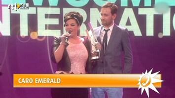 RTL Boulevard Caro Emerald weer in de prijzen
