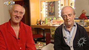 RTL Boulevard Herman van Veen en Erik van der Wurff in Carre