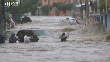 RTL Nieuws Chaos door noodweer Mexico compleet