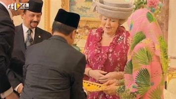 RTL Nieuws Pracht en praal bij staatsbezoek Brunei