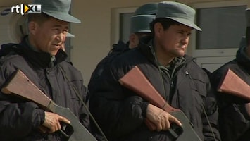 RTL Nieuws Langere opleiding Afghaanse agenten