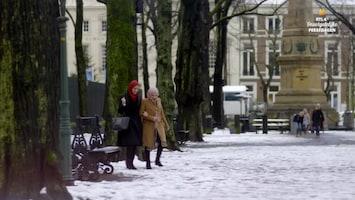 RTL 4's Onvergetelijke Feestdagen Lieke van Lexmond verrast Hanane met een compleet verzorgde high tea