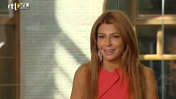 RTL Boulevard Olcay Gulsen dolgelukkig met Frans