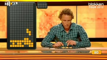 Editie NL Boogerd speelt 'Teetris'