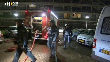 RTL Nieuws Brand in flat Vlaardingen