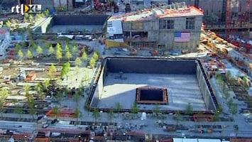 RTL Nieuws Sobere ceremonie Ground Zero