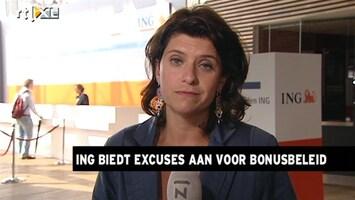 RTL Z Nieuws ING moet topmensen goed belonen, Hella Hueck live bij de ava