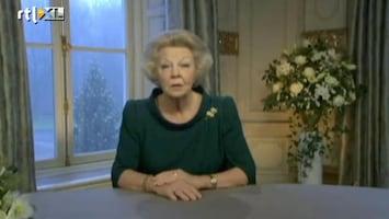 RTL Nieuws Kersttoespraak koningin Beatrix uitgelekt - fragmenten