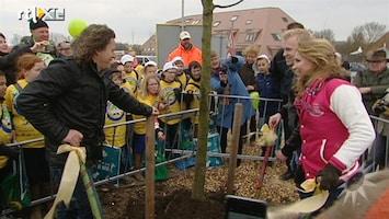 RTL Boulevard Nationale Boomfeestdag 2013 in Leeuwarden met BN'ers