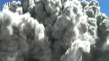 RTL Nieuws Uitbasting recht in gezicht vulkanologen