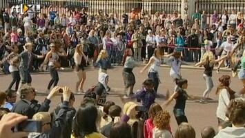 RTL Nieuws Flashmob voor Kate en William